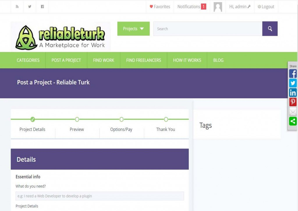 Reliable Turk